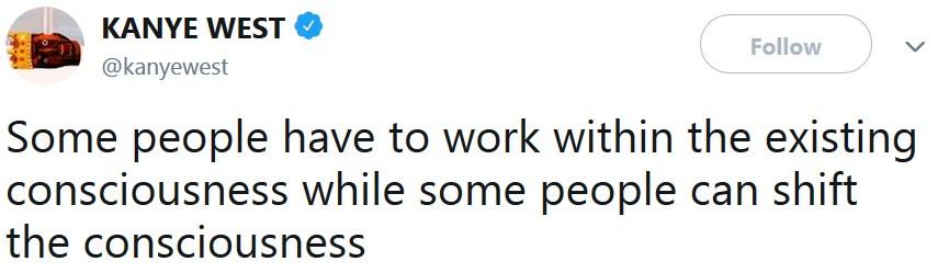 Канье Уэст вернулся в твиттер