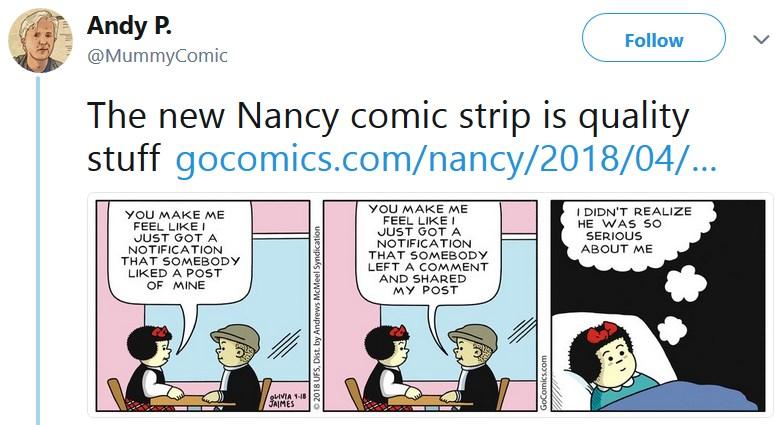 Комикс Нэнси