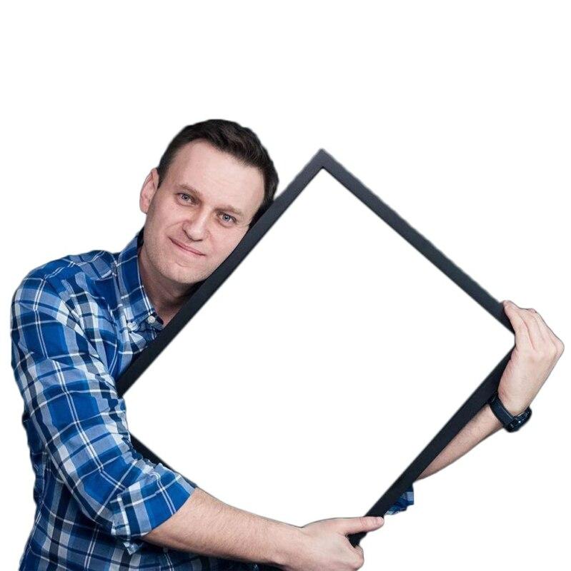 алексей навальный, золотая кнопка, youtube, фотожаба, шаблон