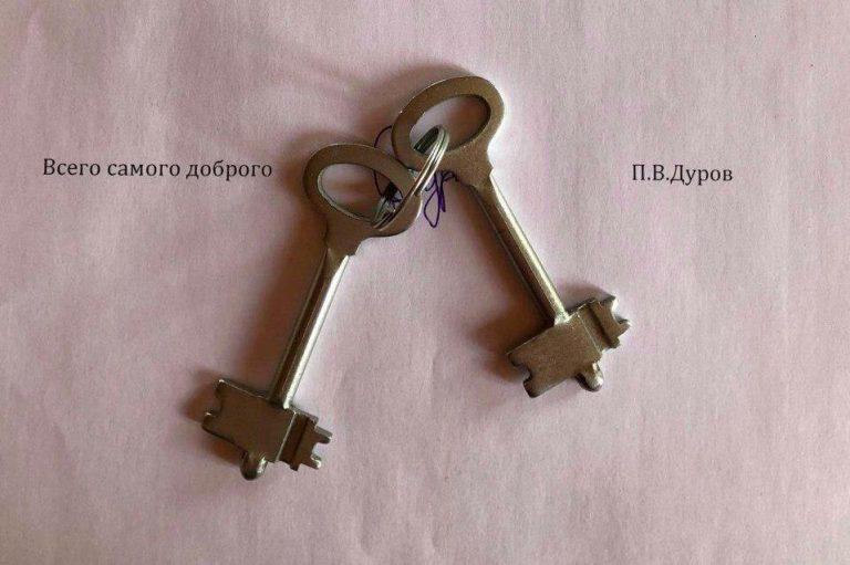 ключи от телеграм