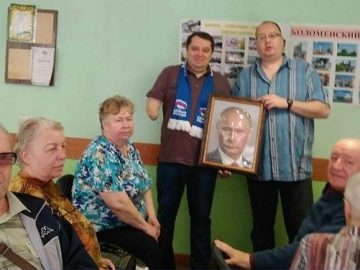 Рельефный портрет Путина