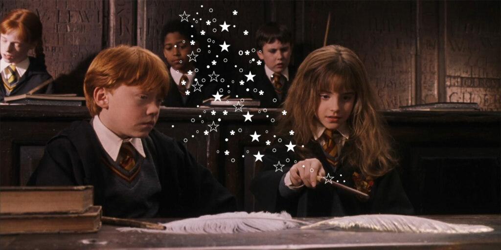 волшебными звездочками