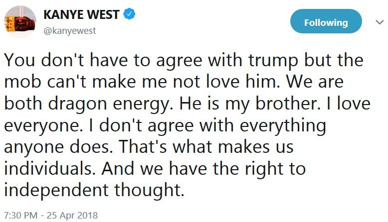 Канье Уэст и Дональд Трамп