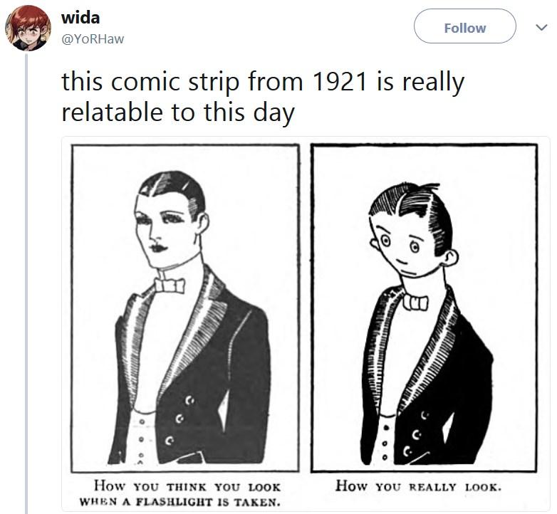 Мем из 1921 года