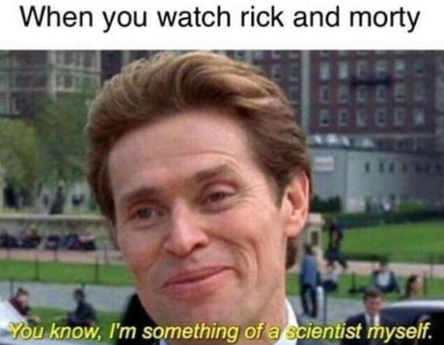 Я и сам своего рода учёный