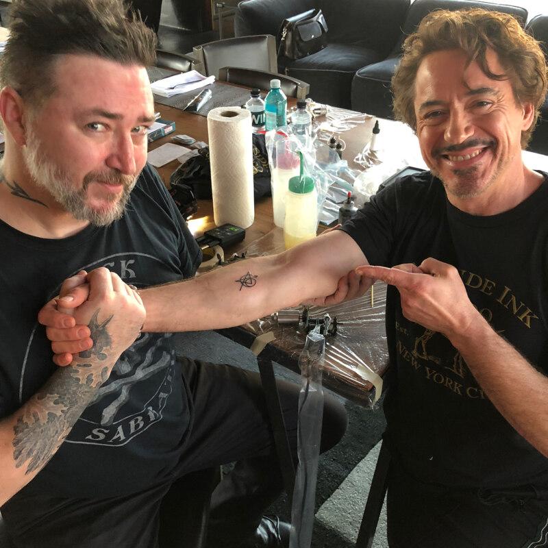 татуировки мстителей