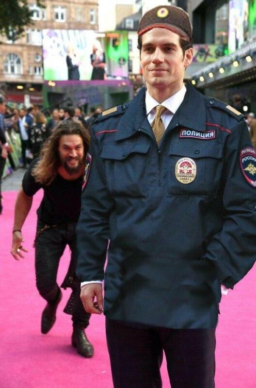 унес полицейского
