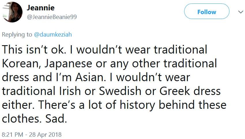 Девушку обвинили в неуважении к культуре из-за традиционного китайского платья. На её защиту встали сами китайцы