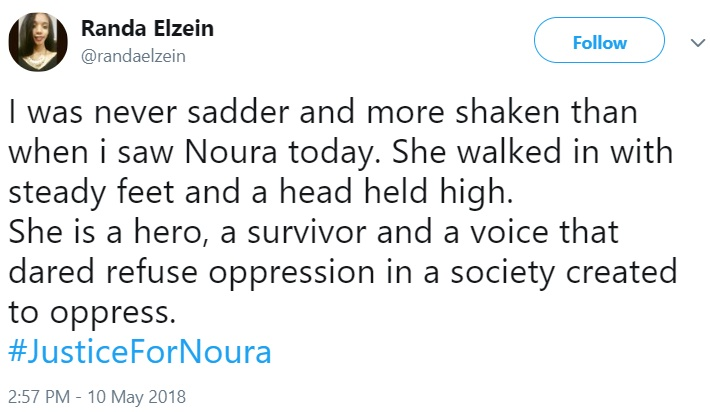 Justice for Noura