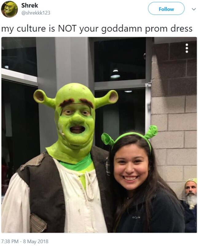My Culture Is Not Your Goddamn Prom Dress