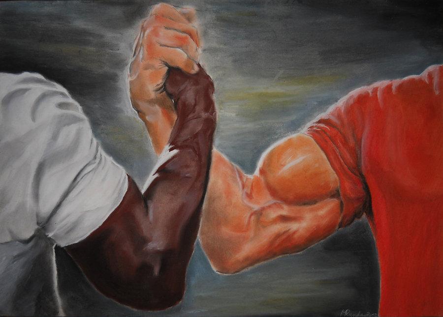Эпическое рукопожатие