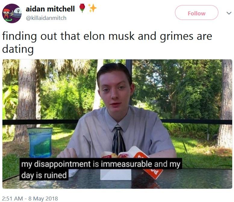 Илон Маск и Grimes