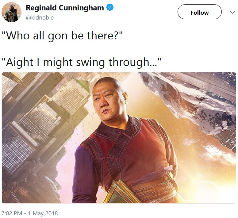 """Вонг в """"Мстителях"""""""