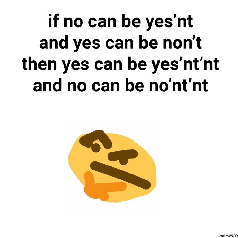 Yesn't