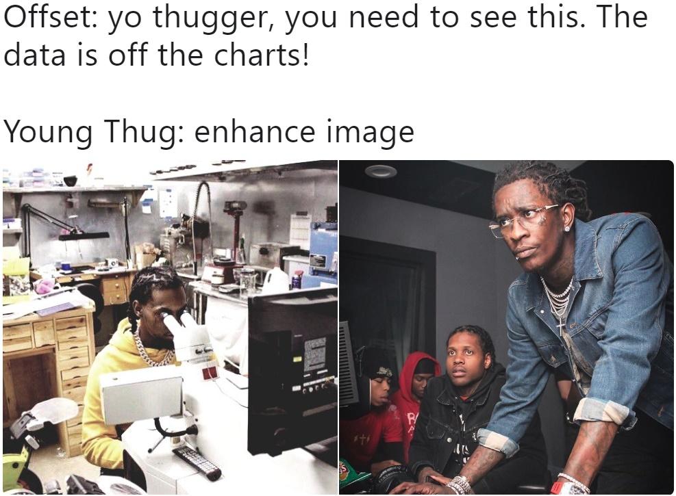 Напряжённый Young Thug