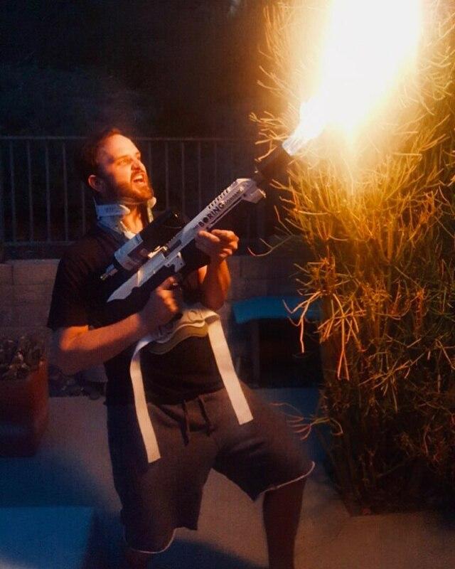 Огнеметы от Илона Маска