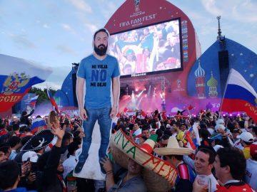 Картонный мексиканец на ЧМ по футболу