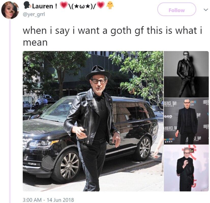 goth gf