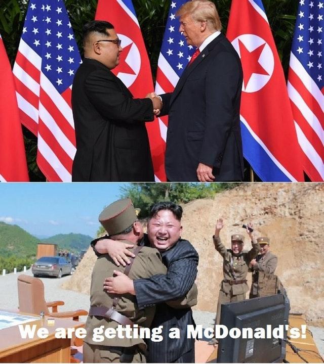Что Трамп показал Ким Чен Ыну?