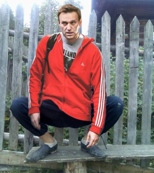 Навальный выходит на свободу