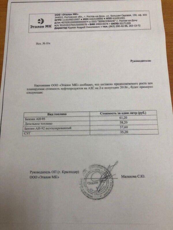 бензин 60 рублей