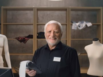 Реклама с Гарольдом