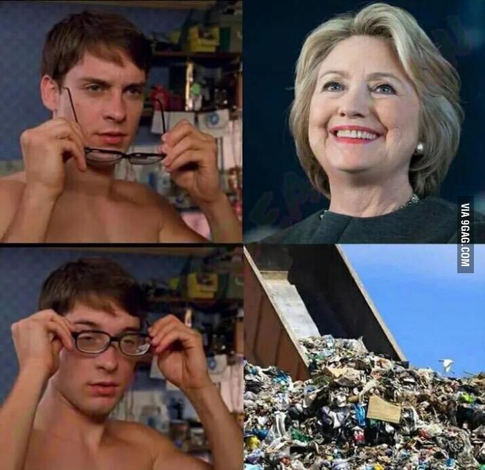 Питер Паркер надевает очки
