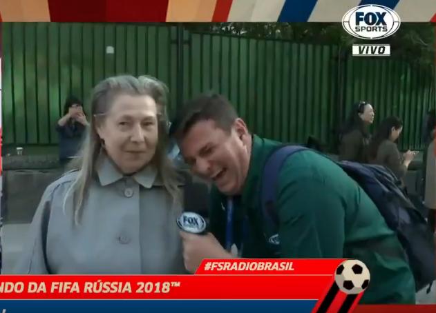 бразильский журналист и русская бабушка
