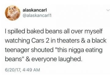 This Nigga Eating Beans