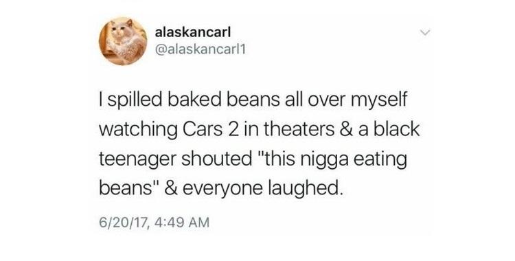 This Nigga Eating Beans