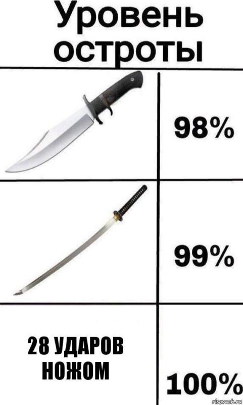 28 ударов ножом