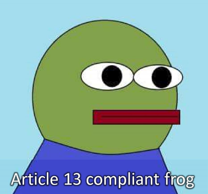 Европейский запрет на мемы