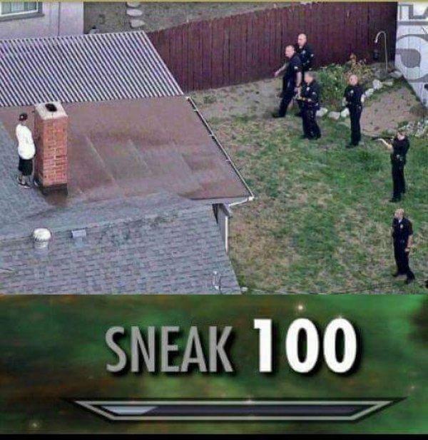 Навыки Skyrim