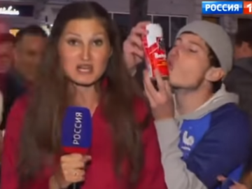 Француз целует пиво