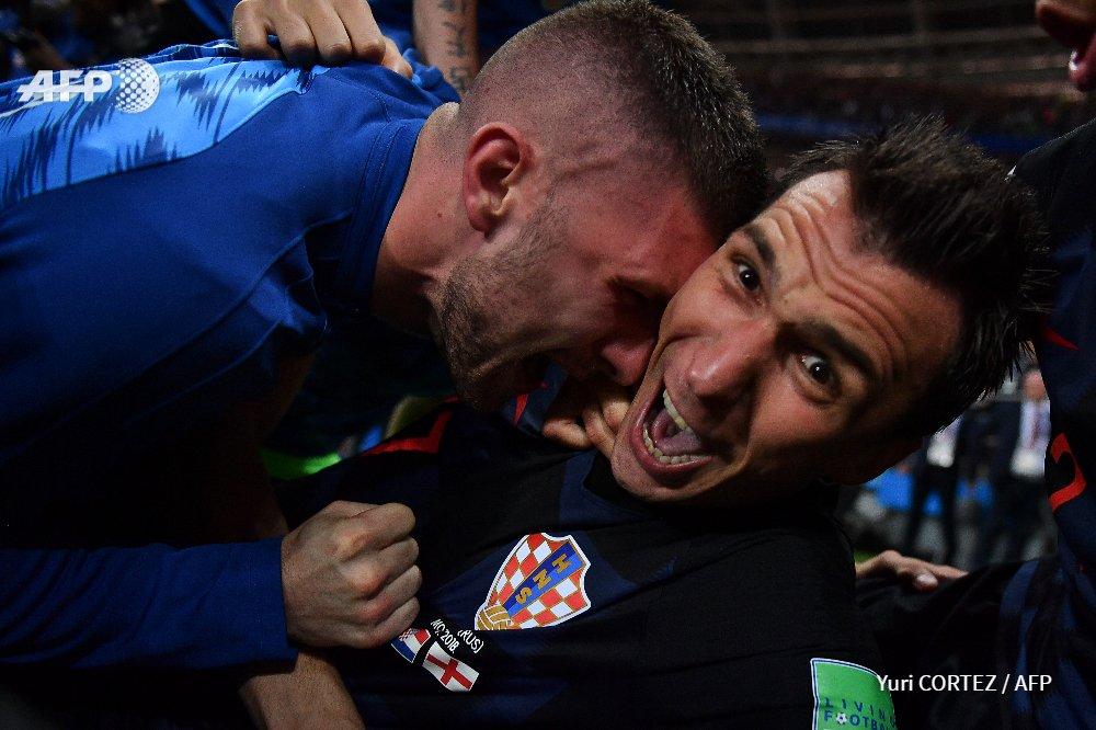 Хорватия - Англия