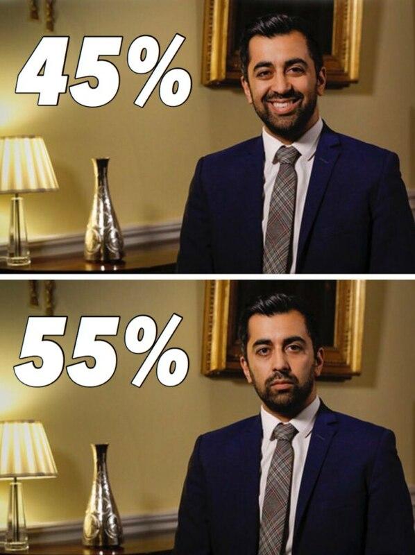 министр с улыбкой и без