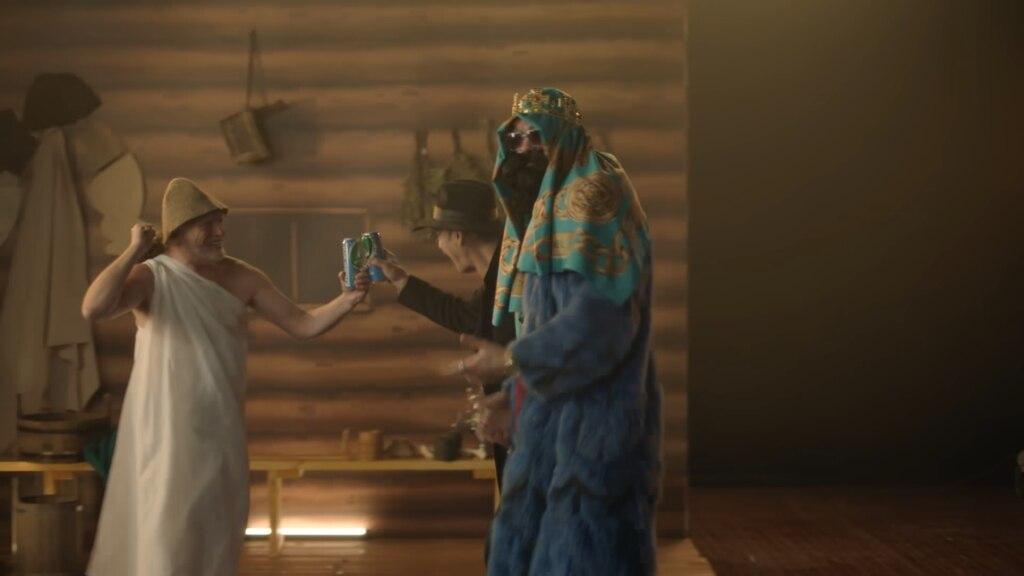 Гарольд и Боярский в рэп-клипе