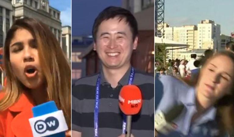 Харассмент или милота? Как журналисты и журналистки по-разному реагируют на поцелуи болельщиков в эфире
