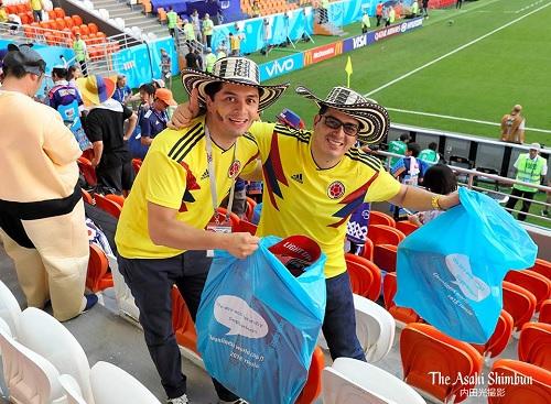 """Японцы убрали стадион и раздевалку после проигрыша Бельгии. И написали """"спасибо"""""""