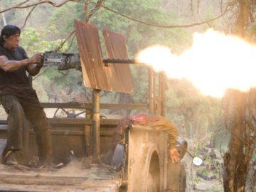 Рэмбо стреляет лайками