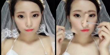 азиатки снимают макияж