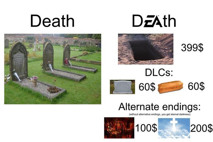 Мемы с логотипом EA