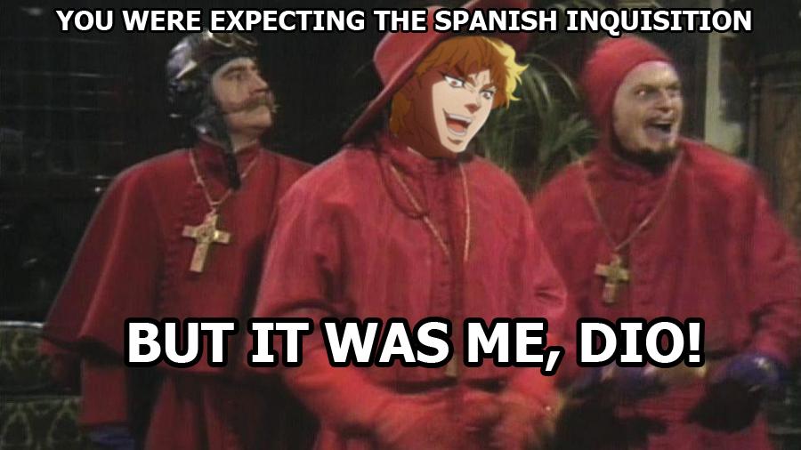 Это был я, Дио!
