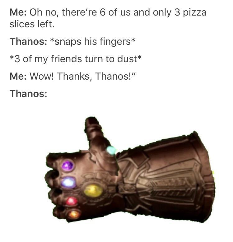 сила таноса на reddit