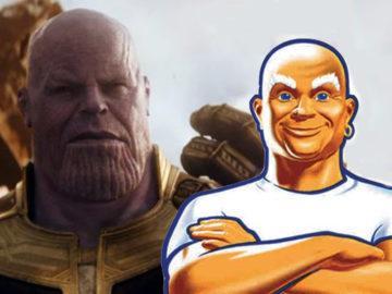 Мистер Пропер Танос