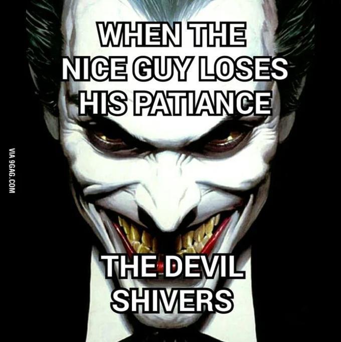 we live in society joker