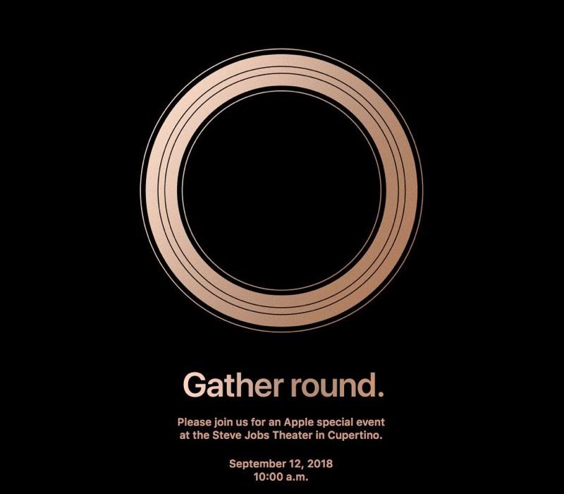 Золотое кольцо Apple