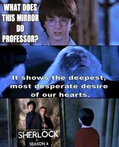 Зеркало показывает самые сокровенные желания