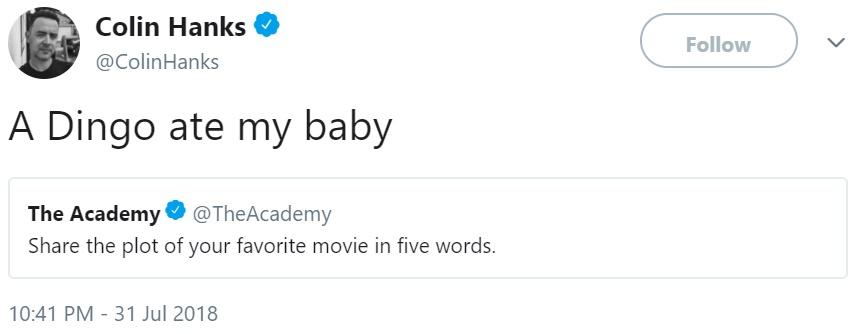 Опиши фильм в пяти словах