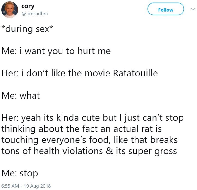 Во время секса он делает мне больно